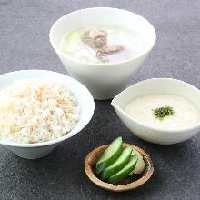 Mugi Meshi(steamed rice)