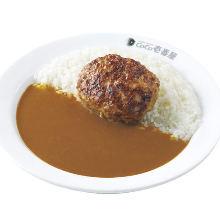 Hamburg steak curry