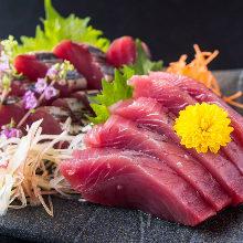 Bluefin tuna sashimi