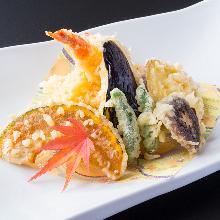Assorted tempura