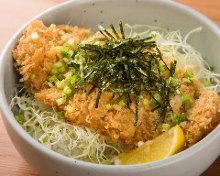 Sirloin cutlet rice bowl