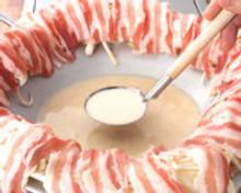 Soy milk pork shabu-shabu