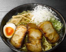 Roasted pork ramen