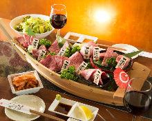 Assorted yakiniku, 8 kinds