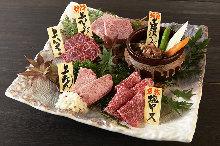Assorted yakiniku, 5 kinds
