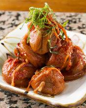 Pickled plum kimchi