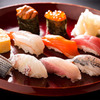 Sushi Kaiseki (set of dishes served on an individual tray) course