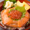 Salmon and salmon roe