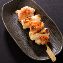 Negima (green onion peices and chicken)
