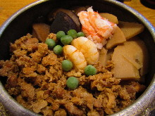 Gomoku kamameshi (pot rice)