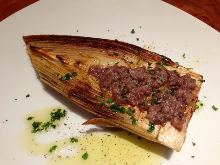 Grilled bamboo shoot