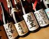 Various kinds of shochu