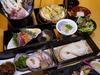 Lunch Inaniwa choice meal tray