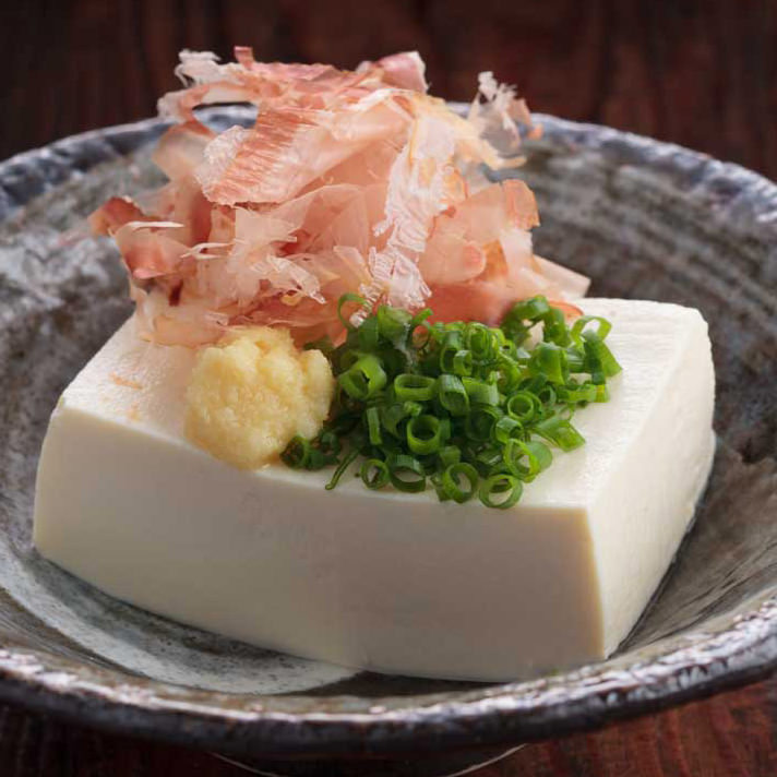 Chilled Tofu, Japanese-Style Recipe — Dishmaps