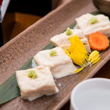 Edible Raw yuba (tofu skin)