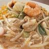 Nagasaki Sara-udon (chop suey with noodles)