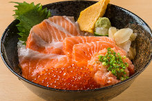 All ster Salmon bowl