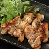 Chicken wings marinated in miso sauce and grilled