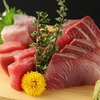 Assortment of fresh fish sashimi