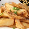 (Fried dish) Anchovies, fried potatoes
