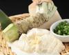 Yuba (tofu skin) sashimi(great with freshly-grated wasabi)