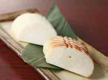 Itawasa (fish cakes with wasabi and soy sauce)