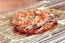 Mixed okonomiyaki