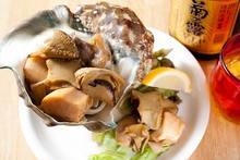Grilled shellfish