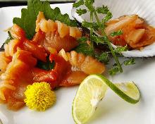 Ark shell sashimi