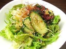採りたて野菜のチョレギサラダ