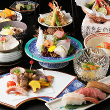 8,000 JPY Course (13 Items)