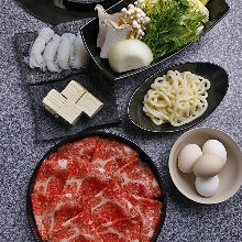 3,500 JPY Course (19 Items)