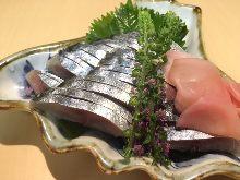 Salted mackerel sushi