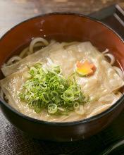 Wheat noodles with Yuba (tofu skin)