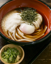 Wheat noodles with egg