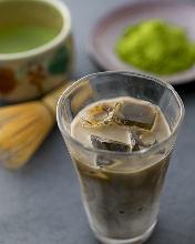 Ice Hojicha Latte