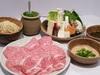 Specially selected Kuroge Wagyu shabu-shabu set (A5 and A4 rank chuck eye roll set)