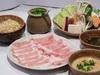 Platinum pork shabu-shabu set