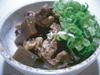 Beef sinew stew