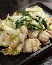 Stir-fried organ meat