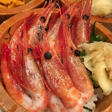 Shrimp rice bowl