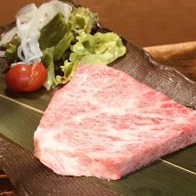 Grilled Wagyu beef steak