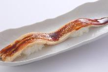 Simmered conger eel