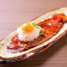 Misuji (top blade) sushi