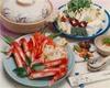 Crab hot pot (sukiyaki) course