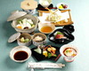 Boiled Tofu meal tray