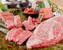 Meat tasting menu