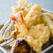 Assorted tempura, 5 kinds