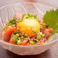 Seafood tartare
