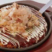 Pork okonomiyaki
